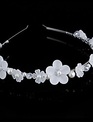 Bride's Flower Shape Rhrinestone Foehead Wedding Hair Band Headbands 1 PC
