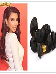 3PCS/Lot Hair Products Peruvian Virgin Hair Loose Wave 100% Unprocessed Human Hair Weft No Shedding No Tangle