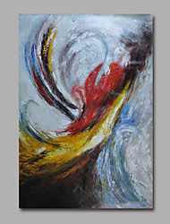 Hand-Painted Oil Painting on Canvas Wall Art Abstract Deco Art One Panel Ready to Hang
