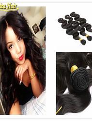 3pcs / lot cabelo virgem 8a série cabelo 100% cabelo humano onda do corpo 3 pacote trama do cabelo com entrega rápida
