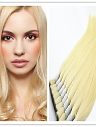 "3Pcs/Lot Bulk Hair:14""-32"" Virgin 100% Brazilian Human Hair Bulk,Blonde Color 613# Silky Straight"
