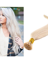 "18""-30"" Brazilian Hair Extension I Tip Hair Extensions Keratin Hair Extensions Capsules 100g/pack  Italian Prebonded"