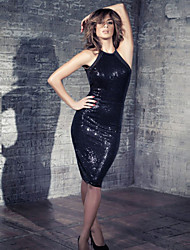 Trendy Popular Sexy Black Club Dresses Brand New Super Deal Sexy Nightclub Dresses Sexy Style Hot Sequin Backless Dress