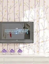 novo arco-íris ™ wallpaper arte contemporânea deco stripe papel de parede revestimento de parede arte não-tecidos da parede da tela