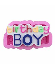 Birthday Boy Shape Fondant Mold Cake Decoration Mold