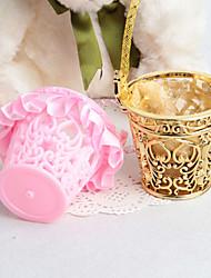 12 Piece/Set Favor Holder - Basket Plastic Favor Tins and Pails Non-personalised