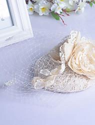 Mulheres Strass Capacete-Casamento Ocasião Especial Véus de Rede 1 Peça