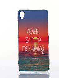 Charming Sunshine Pattern TPU Soft Case for Sony Z2
