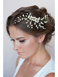 2015The new high-end handmade pearl bridal headdress wedding dress accessories bridal jewelryTM-Headwear0032