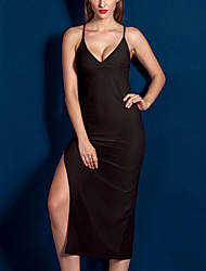 Women Polyester Sexy Little Fantasies/Sleepwear Gowns