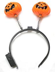 Halloween Fancy Dress Ball Dress Up Pumpkin Lantern Head Hoop