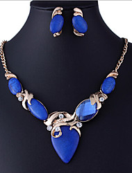 MISS U Women's All Matching Vintage Elegant Necklace & Earrings Suit