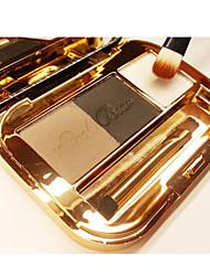 3 Палитра теней Сухие / Отблеск / минеральный Палитра теней порошок Нормальная Повседневный макияж