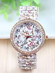 Xu™ Women's Fashion Design Restoring Ancient Ways Stretch Butterfly &Flower Quartz Watch Cool Watches Unique Watches
