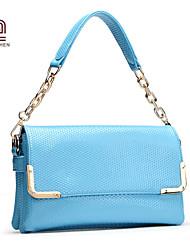 Handcee® Hot Selling Woman PU Fashion Plain Lady Shoulder Bag