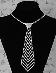 Жен. Ожерелье Вечеринка/Особые случаи/Повседневные Серебро