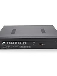 cotier®8ch 1U PoE NVR / 1 канал VGA + HDMI 1 канал / ONVIF / NVR N8 / 1U-PoE