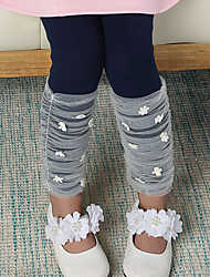 Girl's Cotton Lace  Leggings , Winter/Fall