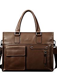 bolso informal bolso de cuero de negocios de primera capa de bolsas de un solo hombro para el diseño de los hombres maletines los hombres