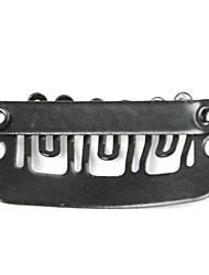 50 Stück schwarze Haarverlängerungen 23mm Clips für Perücken Salons