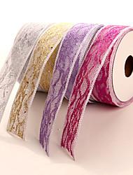 New Arrival  3.8cm Organza Wedding  Ribbons (more colors)