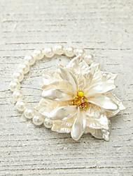 Bracelet Chaîne Imitation de perle Perle imitée Femme