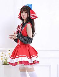 Love Live! Maki Nishikino Red Cotton & Terylene Cosplay Costumes