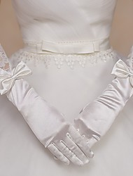 Lace/Nylon Elbow Length Wedding/Party Glove