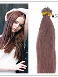 Cheap Russian Straight Human Virgin Hair Keratin Hair Extensions I Tip Hair Extensions 1G/S 50G/PC 1Pc/Lot In Stock