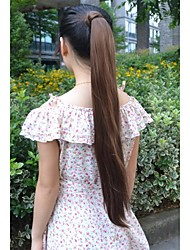 Long Straight Volume Up Pongtail Extension Japan High Temperature Synthetic Fiber Hair Extension