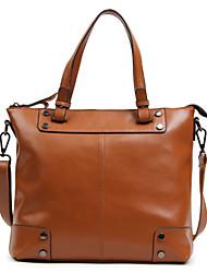 de las mujeres del zurriago del bolso de hombro del bolso de fin de semana / totalizador - verde / marrón / rojo