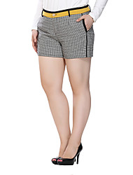 Prettyshow 2015 autumn fashion women big size XL-6XL casual slimming all-matched sexy shorts/pants QA3SK0203