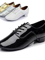 """Scarpe da ballo - Disponibile """"su misura"""" - Uomo - Latinoamericano - Tacco spesso - Pelle - Nero / Bianco / Argento / Oro"""