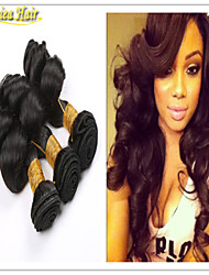 3PCS/Lot Unprocerssed 8A Peruvian Virgin Hair Loose Wave Hair Products Best Puruvian Hair Bundles Hair Weave