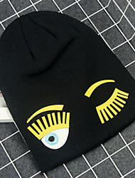 Unisex Children's Cotton Blend/Knitwear Ski Hat , Cute Winter Cap