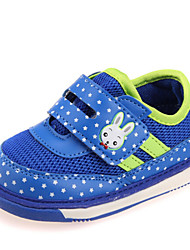 Zapatos de bebé - Sneakers a la Moda - Casual - Tela - Azul / Rojo