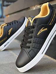 Sapatos Skateboard Masculino Preto / Azul / Cinza Courino