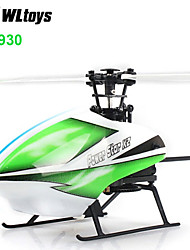 WLtoys V930 Power Star X2 4CH 6-Axis Gyro Brushless Flybarless RC Heli