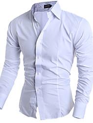 Men's Designer Casual  Slim Fit Shirts