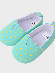 Baby Shoes Casual Canvas Fashion Sneakers Green