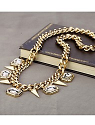 LJD Rivet Diamond Necklace