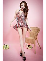 Women Polyester Sleepwear Gowns