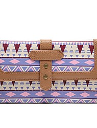 pu wallet 's donne - multicolore