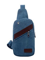 homens 's bolsa para compra messenger ombro - azul / marrom