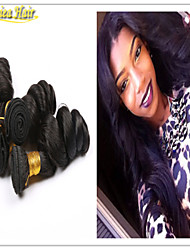3PCS/Lot Peruvian Loose wave Virgin Hair Bundles 100% Curly Virgin Hair Factory Selling 8A Cheap Hair Weave Online