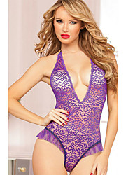 Hot Pajamas for Women Summer Style Lace Lenceria Erotica Quality And Low Price Purple Teddy Sexy Lingerie Women