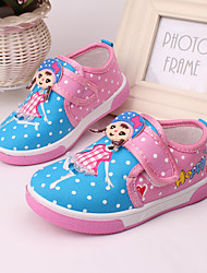 Baby Shoes Outdoor/Casual Canvas Flats Blue/Pink/Coral