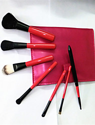 7 Makeup Brushes Set / Blush Brush / Eyeshadow Brush / Lip Brush / Brow Brush / Powder Brush / Foundation Brush / Other Brush Nylon