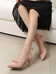 Sweety Bowknot Women's Wedding Cusp Stiletto Heel Platform Heels Shoes