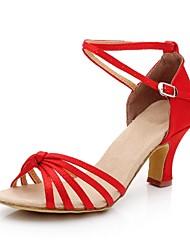 Zapatos de baile (Negro/Morado/Oro/Azul/Amarillo/Rosado/Rojo/Blanco) - Salón de Baile/Danza latina/Salsa - No Personalizable